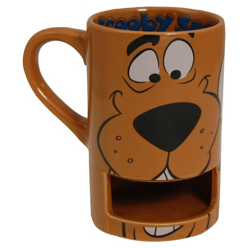 Scooby Doo Face Gift Boxed Mug with biscuit holder